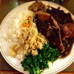 パサパサすぎるブラジル料理!ぐつぐつお肉のブラジル料理!