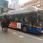 バンクーバー。バスの降り方はちょっと違うけどとても簡単。