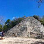 トゥルムから行こう♪ 登れるピラミッド、コバ遺跡!
