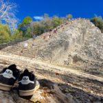 メキシコ、マヤの秘境!登れるピラミッド!コバ遺跡を駆け上がれ!!