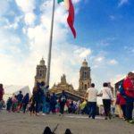 ついにメキシコシティ到着!!まずはソカロ広場で首都を感じよう!