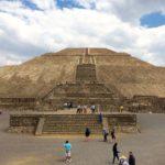 メキシコシティのピラミッド!テオティワカンへバスで行こう♪最後に騙されるな!